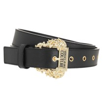Gürtel Linea Belt Leather Black