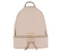 Rhea Zip MD Backpack Soft Pink Rucksack