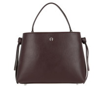 Carla Tote Small Burgundy