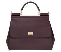 Tasche - Sicily Dauphine Leather Regular Satchel Mosto - in lila - Henkeltasche für Damen