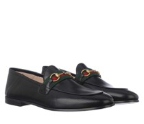 Schuhe Brixton Horsebit Loafers Leather Black
