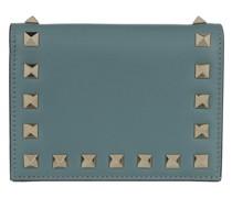 Portemonnaie Rockstud Small Wallet Blue