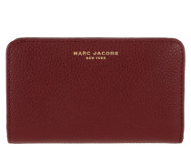Gotham Compact Wallet Deep Maroon Portemonnaie