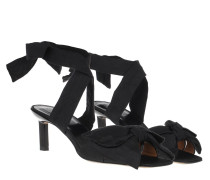Sandalen Heeled Bow Black