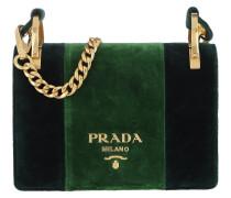 Velvet Shoulder Bag Smeraldo+Alloro