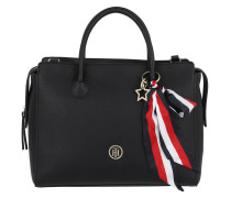 Charming Tommy Satchel 2 Black Tote