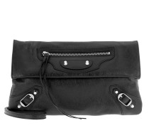 Classic Envelope Bag Black Umhängetasche
