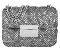 Sloan SM Chain Shoulder Bag Silver