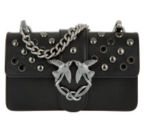 Mini Love Jewel Shoulder Bag Black Umhängetasche
