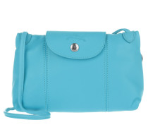 Tasche - Le Pliage Cuir Messenger Crossbody Bag Bleuette