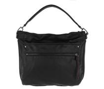 Miramar Vintage Hobo Bag Oil Black