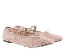 Rockstud Ballerina HVG Pink Ballerinas