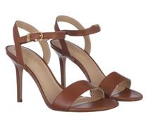 Sandalen Gwen Sandals Dress Deep Saddle Tan