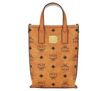 Umhängetasche Essential Visetos Mini Crossbody Bag With Handle Cognac