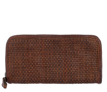 Wallet Thin Woven Cow Portemonnaie