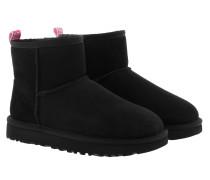 Boots W Classic Mini Ii Graphic Logo Black/Neon Pink