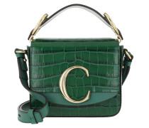 Umhängetasche C Shoulder Bag Leather Woodsy Green