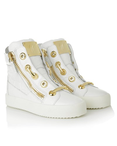 giuseppe zanotti damen giuseppe zanotti sneakers may london sneaker white in wei sneakers. Black Bedroom Furniture Sets. Home Design Ideas