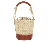 Beuteltasche Holly Mini Bucket Bag Cognac
