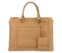 Tasche - Shopping Bag Vitello Daino Caramel