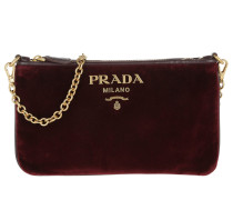 Velvet Pouch Ribes Clutch
