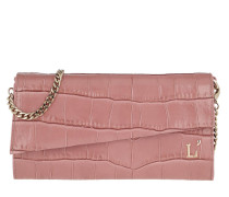 Umhängetasche Printed Continental Wallet Ancient Pink