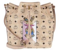 Rabbit Drawstring Bag Small Beuteltasche