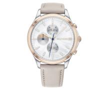 Uhr Chronograph Casual 1782118 Grey