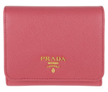 Small Wallet Saffiano Peonia Portemonnaie