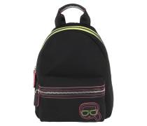 Rucksack Karl Ikonik Neon Backpack Black
