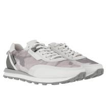 Sneakers Icon Sneaker Nylon Grey Bianco