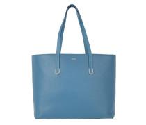 Nadalia-R Shopper Medium Blue Umhängetasche blau