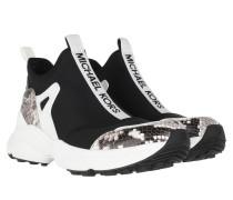 Sneakers Willow Slip On Black Optic White