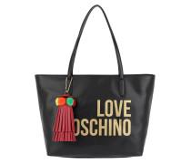 Shopping Bag Tassel Nero Umhängetasche