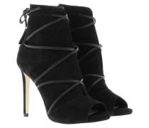 Boots & Booties - Ayana Bootie Suede Black