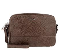 Cloe Shoulder Bag Small Bubble Dark Brown Umhängetasche braun