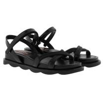 Nastro Nylon+V Sandale Nero Sandalen
