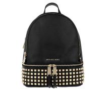 Rhea Zip MD Pyr Stud Backpack Black Rucksack