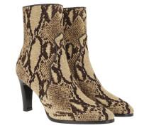 Boots Claude Textile Light Brown