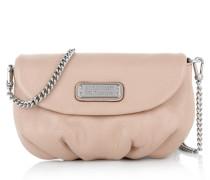 Marc by Marc Jacobs Tasche - New Q Karlie Bag Cameo Nude - in beige, silber - Umhängetasche für Damen
