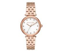 Uhr Diamond Darci Three-Hand Stainless Steel Watch
