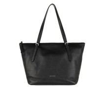 Shopper Shopping Bag Grained Leather
