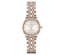 Armbanduhr - Ladies Alpha Wristwatch Rosegold/Silver