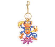 Indian Monkey Key Holder White Schlüsselanhänger weiß
