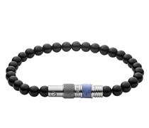 Armband Black Semi-Precious Beaded Bracelet