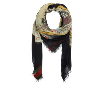 Gucci Scarf 452711 3G856 Multi Schal schwarz