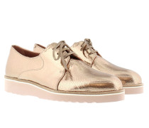 King Loafer Ckacked Platino Schuhe