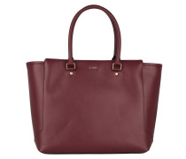 Tasche - Geras Shopper Large Saffiano Burgundy