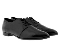Loafers & Slippers - Ismene Derby Lace II Patent Black