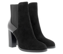 Viola Chelsea Boot Suede Black